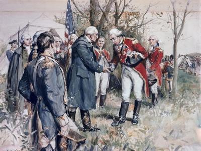 Burgoyne's Surrender Frederick Coffay Yohn
