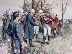 Burgoyne's Surrender Frederick Coffay Yohn by Frederick Coffay Yohn