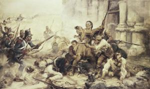 Remember the Alamo by Frederick Coffay Yohn