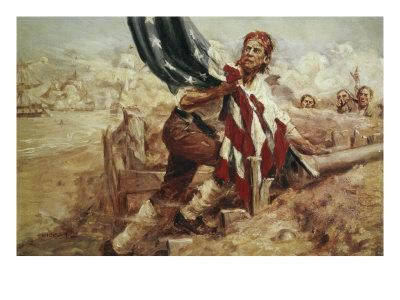 Sgt William Jasper Replacing the Flag (Cont)
