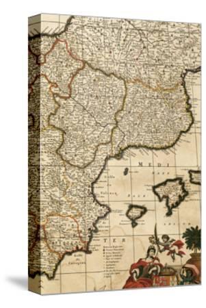 Spain, Detail, Atlas