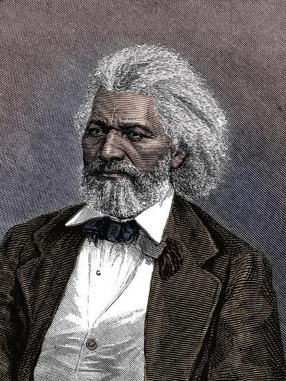 Frederick Douglass (1817-1895), American diplomat, abolitionist and writer, 1875-Unknown-Giclee Print