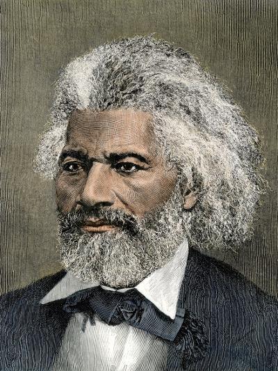 Frederick Douglass Portrait--Giclee Print