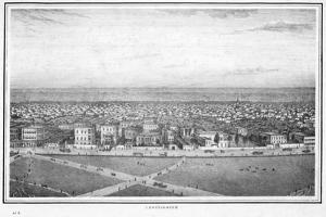 Chowringhee, Calcutta, India, C1840S by Frederick Fiebig