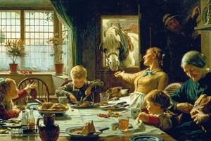 One of the Family, 1880 by Frederick George Cotman