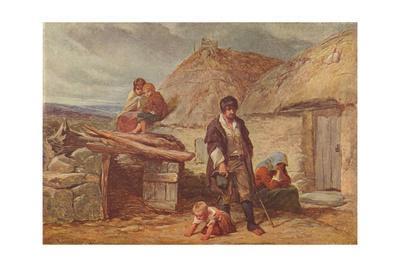 'An Irish Eviction', 1850 (1906)