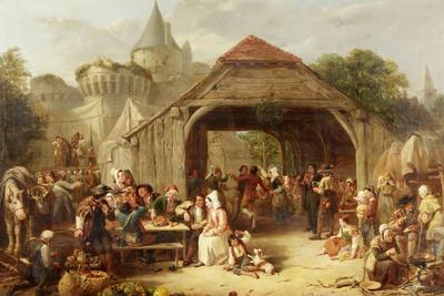 Merrymaking, 1841