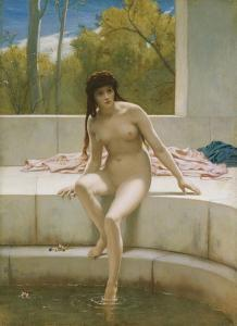 Susannah Without the Elders by Frederick Goodall