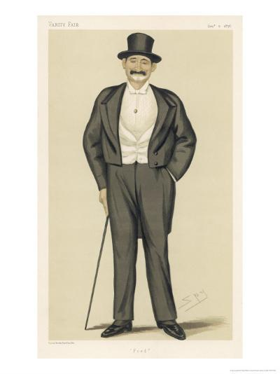 Frederick Gustavus Burnaby English Soldier and Traveller-Spy (Leslie M^ Ward)-Giclee Print