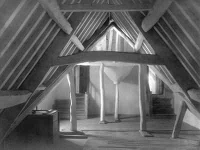Attic of Kelmscott Manor by Frederick Henry Evans