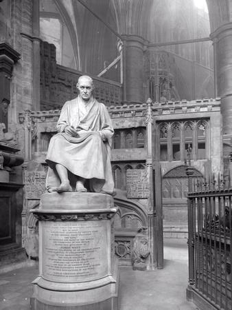 Monument to James Watt in St Paul's Chapel, Westminster Abbey, London