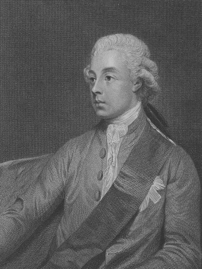 Frederick Howard, 5th Earl of Carlisle, Engraved by John Keyse Sherwin, 1782 (Engraving)-George Romney-Giclee Print