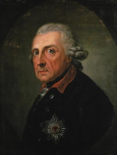Frederick Ii (The Great) of Prussia, 1781-Anton Graff-Giclee Print