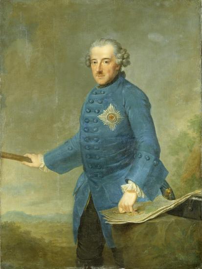 Frederick Ii the Great of Prussia, C.1770-Johann Georg Ziesenis-Giclee Print