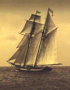 Under Sail II by Frederick J^ LeBlanc