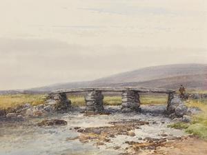 Cyclopean Bridge (Post Bridge, Dartmoor) , C.1895-96 by Frederick John Widgery