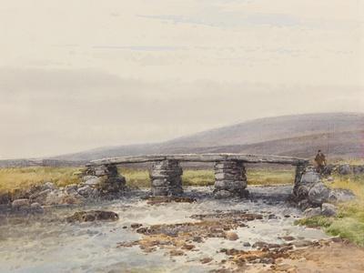 Cyclopean Bridge (Post Bridge, Dartmoor) , C.1895-96