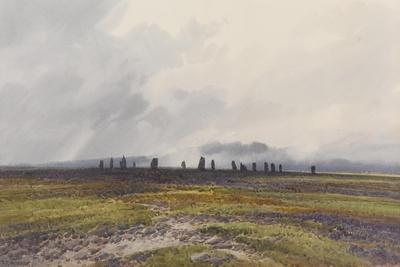 Sacred Circle, Mis Tor, Langstone Moor, Dartmoor , C.1895-96