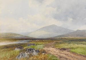 Scene on the Taw, Stepperton , C.1895-96 by Frederick John Widgery