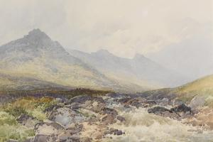 Tavy Cleave, Dartmoor , C.1895-96 by Frederick John Widgery