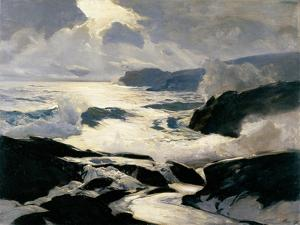 Seascape During Hightide by Frederick Judd Waugh