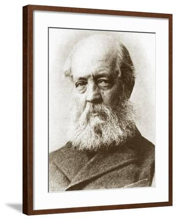 Frederick Law Olmstead Portrait--Framed Art Print