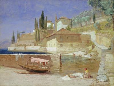 Varenna, Lake Como by Frederick Lee Bridell
