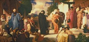 Captive Andromache, C.1888 by Frederick Leighton