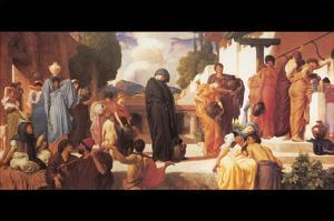 Captive Andromache by Frederick Leighton