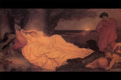 Cymon and Iphigenia by Frederick Leighton