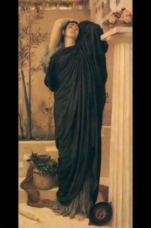 Electra at the Tomb of Agamemnon by Frederick Leighton