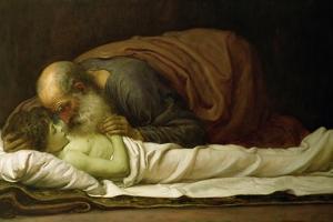 Elisha Raising the Son of the Shunamite, 1881 by Frederick Leighton