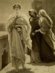 Helen of Troy (Litho) by Frederick Leighton