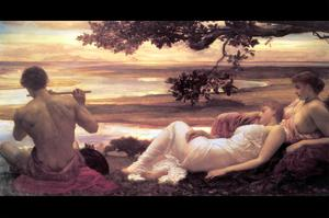 Idyll by Frederick Leighton