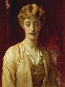 Miss Dene (Dorothy Dene or one of her sisters) by Frederick Leighton