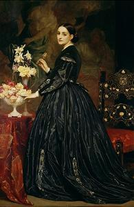 Mrs James Guthrie, c.1864-5 by Frederick Leighton