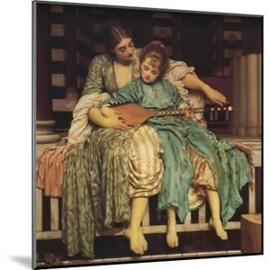 Music Lesson by Frederick Leighton