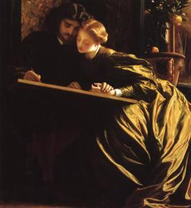 Painter and His Bride, 1864 by Frederick Leighton
