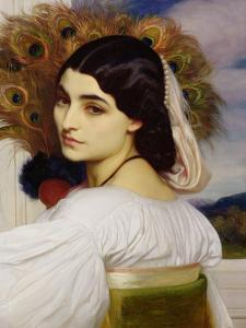 Pavonia, 1859 by Frederick Leighton