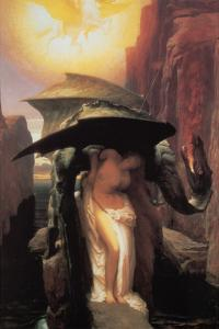 Perseus and Andromeda by Frederick Leighton