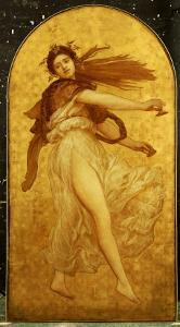 The Dance of the Cymbalists by Frederick Leighton