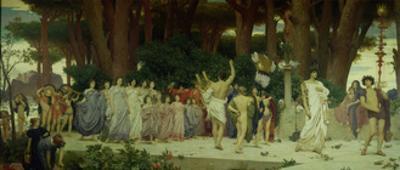 The Daphnephoria, C.1874-76 by Frederick Leighton