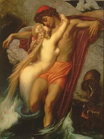The Fisherman and the Syren: from a Ballad by Goethe, 1857