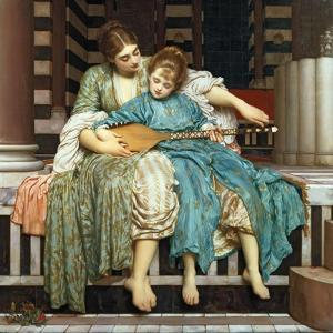 The Music Lesson, 1877 by Frederick Leighton