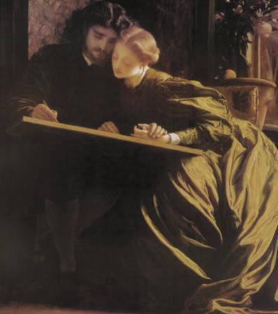 The Painter's Honeymoon, 1864 by Frederick Leighton