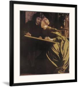 The Painter's Honeymoon, 1864 by Frederick Leighton