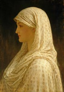 The Vestal, C.1882-83 by Frederick Leighton