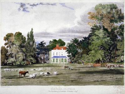 Old Park, Clapham, London, C1830