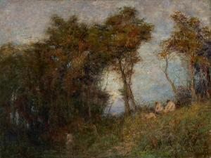 Afterglow (Summer Evening) 1912 by Frederick McCubbin