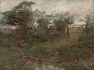 The Broken Fence, 1907 by Frederick McCubbin